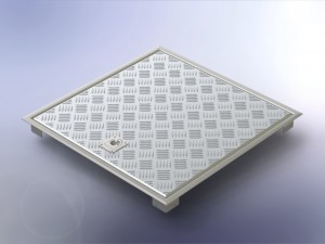 lattialuukku-alumiini